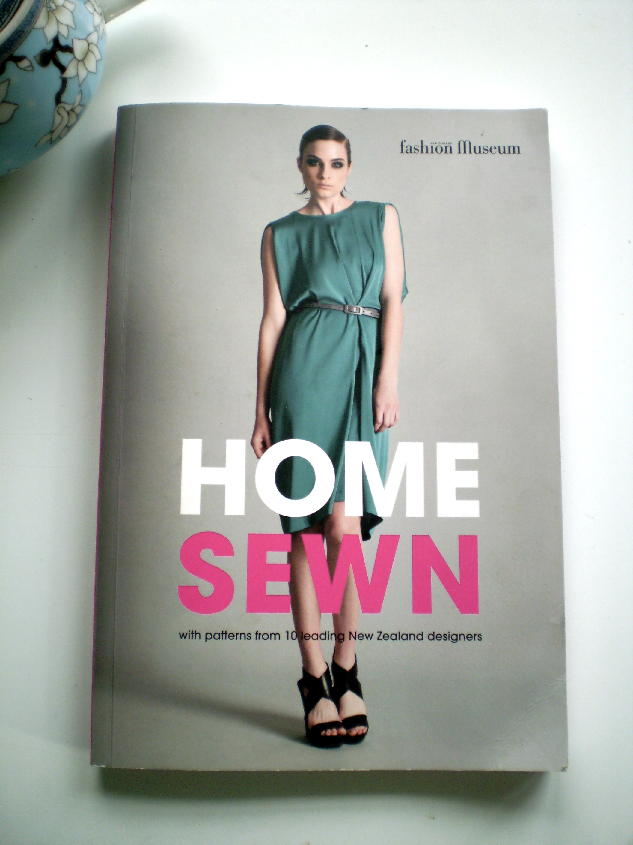 Little Housewife: Giveaway - Homesewn by Fashion Museum of New Home sewn fashion museum