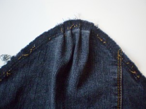 Denim Jacket Refashion
