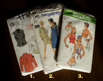 Use multiple sewing patterns to design your own pattern. Offsquare.com