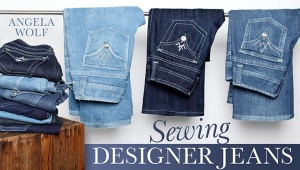 Sewing Designer Jeans