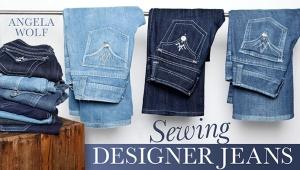Sewing Designer Jeans