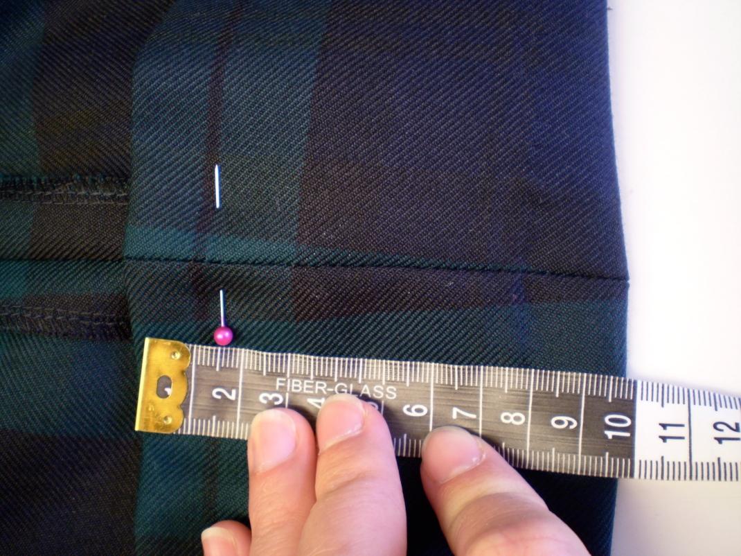 How to shorten a kilt | Offsquare.com