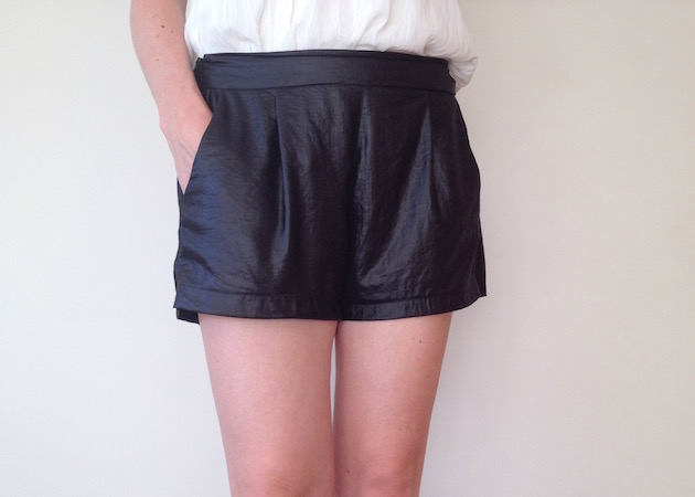 I need leather-look shorts in my life | Offsquare.com