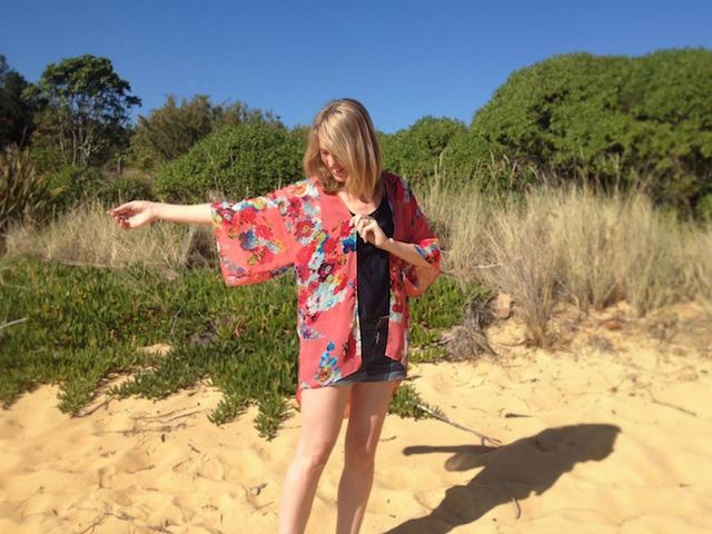 kimono jacket for summer | offsquare.com