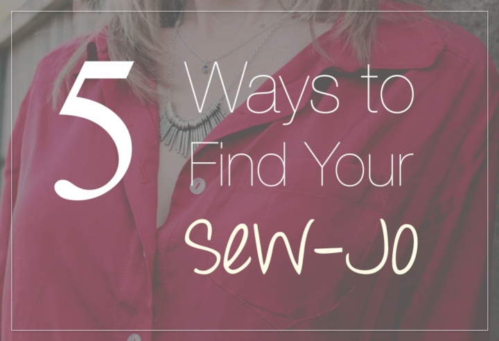 5 ways to find your sew-jo | Offsquare.com