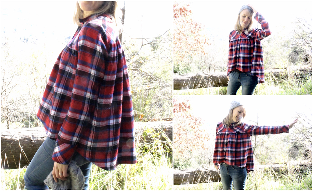 Pancake Blouse by Waffle Patterns // Offsquare.com